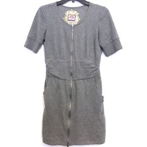 JUICY COUTURE Gray Sweater Dress Size Small